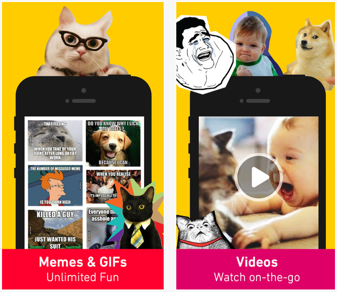 9GAG humour meme application top iphone ipad
