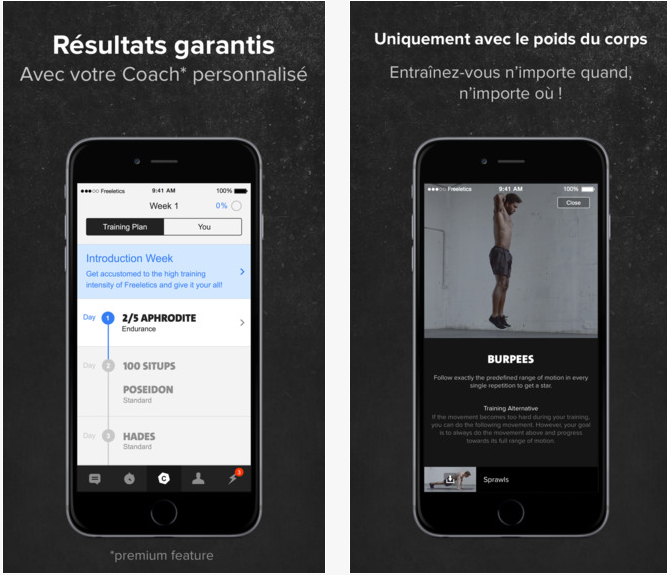 Freeletics coach sportif sport
