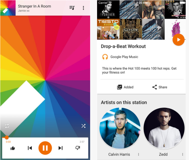 Google Play Music musique streaming