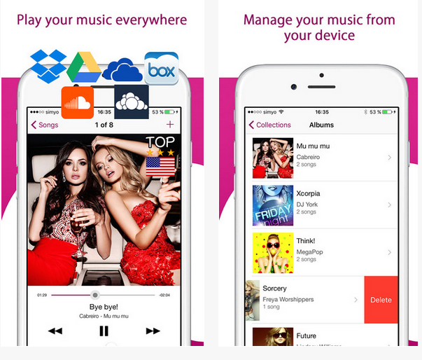 Coud Music Player