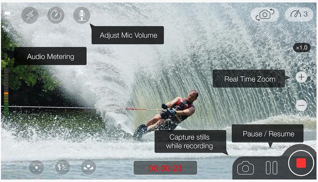 MoviePro vidéos montage meilleure iphone