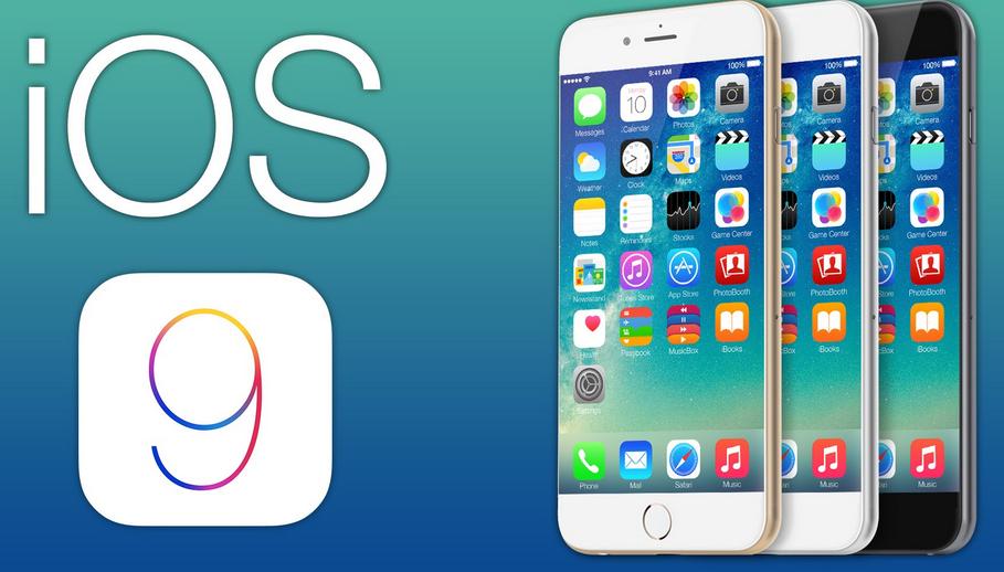 iOS9 interface