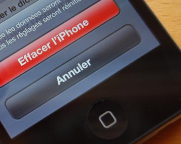 restaurer iphone guide iphone