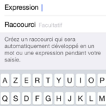 iphone astuces expressions