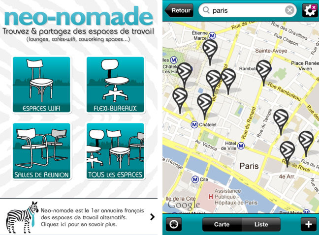 Neo-nomade travail espace coworking