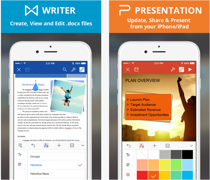 WPS Office word excel mobile gratuit iphone