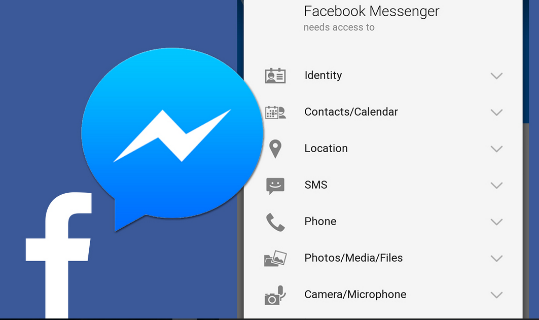 Facebook Messenger appli iphone