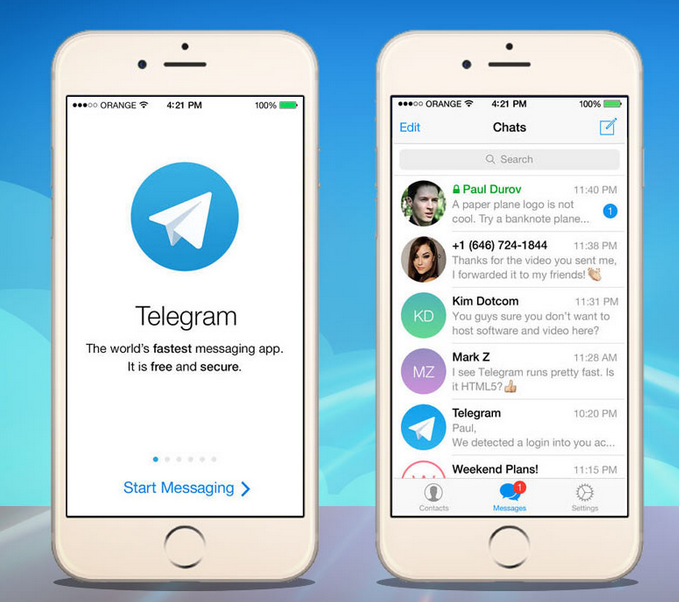 Telegram app crypter sécuté communication