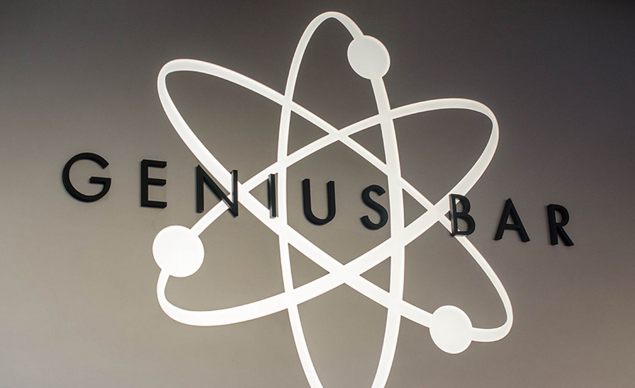 Genius Bar logo